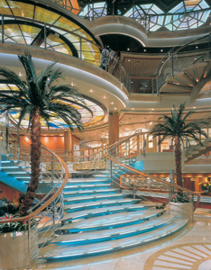 Sun Princess - Atrium