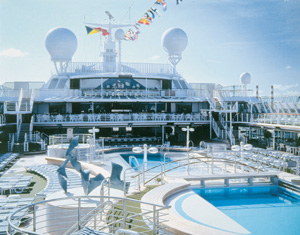 Sun Princess - Lido Deck