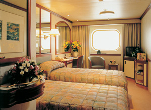 Sun Princess - Oceanview Cabin