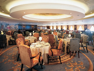 Ocean Princess - The Club Restaurant