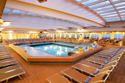 Thomson Dream - The main pool area