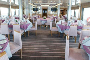 Variety Voyager - The dining room