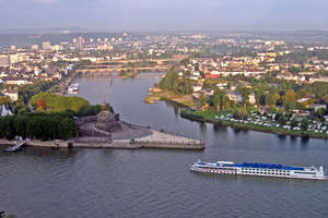 Viking Spirit (Retired) - Aerial View Koblenz, Germany