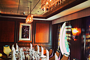 Vision of the Seas - Chef's Table, Aquarius Dining Room