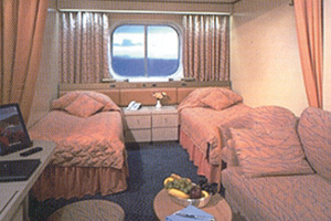 Volendam - Oceanview Stateroom