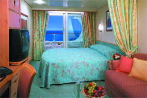 Voyager of the Seas - Deluxe Oceanview Cabin