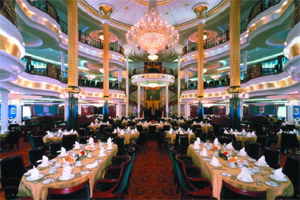 Voyager of the Seas - Main Dining Room