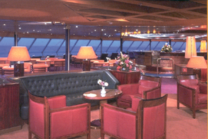 Zaandam - Crow's Nest Lounge