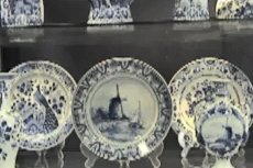 Amsterdam Delft Blue Pottery Factory cruise excursion