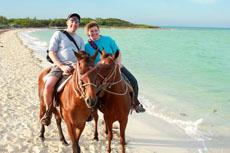 Antigua Horseback Riding cruise excursion