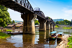Bangkok (Laem Chabang) River Kwai cruise excursion