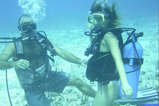Barbados Scuba Diving cruise excursion