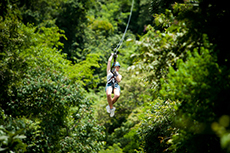 Barbados Zip-lining cruise excursion