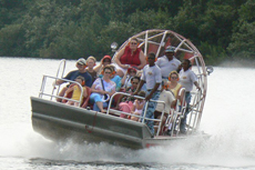 Belize City Air Boat Tour