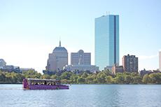 Boston Duck Tour cruise excursion