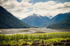Christchurch Arthurs Pass and Southern Alps