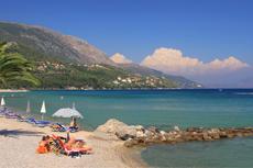 Corfu Dassia Beach