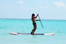 Costa Maya Standup Paddleboard cruise excursion