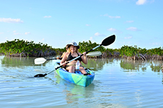 Costa Maya Kayaking
