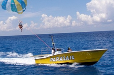 Cozumel Parasailing cruise excursion