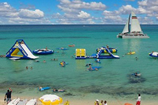Cozumel Deluxe Sail, Snorkel and Beach Party cruise excursion