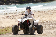 Dominica ATV Safari cruise excursion