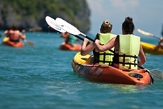 Dominica Kayaking cruise excursion