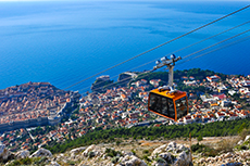 Dubrovnik Cable Car cruise excursion