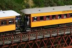 Dunedin Taieri Gorge Railway cruise excursion