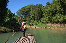 Falmouth Bamboo Rafting
