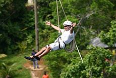 Falmouth Ziplining