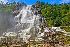 Flam Tvinde Waterfall