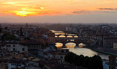 Florence (Livorno) Tuscany Walking Tour