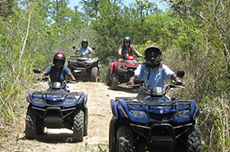 Freeport ATV Adventure cruise excursion