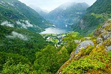 Geiranger Mount Dalsnibba