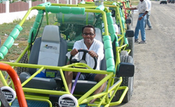 Grand Turk Dune Buggy cruise excursion
