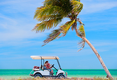 Grand Turk Golf Cart Rental cruise excursion