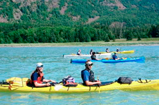 Haines Kayaking cruise excursion