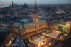 Hamburg City Tour cruise excursion