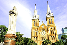 Ho Chi Minh City (Saigon) Notre Dame Cathedral cruise excursion