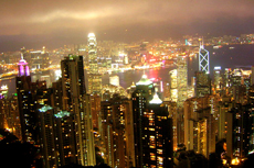 Hong Kong Victoria Peak cruise excursion