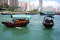 Hong Kong Aberdeen cruise excursion
