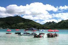 Huahine Lagoon Picnic
