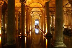 Istanbul Underground Cistern cruise excursion