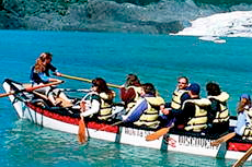 Juneau Canoeing cruise excursion