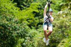 Juneau Ziplining cruise excursion