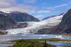 Juneau Mendenhall Glacier Rafting cruise excursion