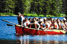 Ketchikan Canoeing cruise excursion