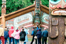 Ketchikan Totem Bight State Park cruise excursion