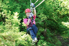 Ketchikan Zip-lining cruise excursion